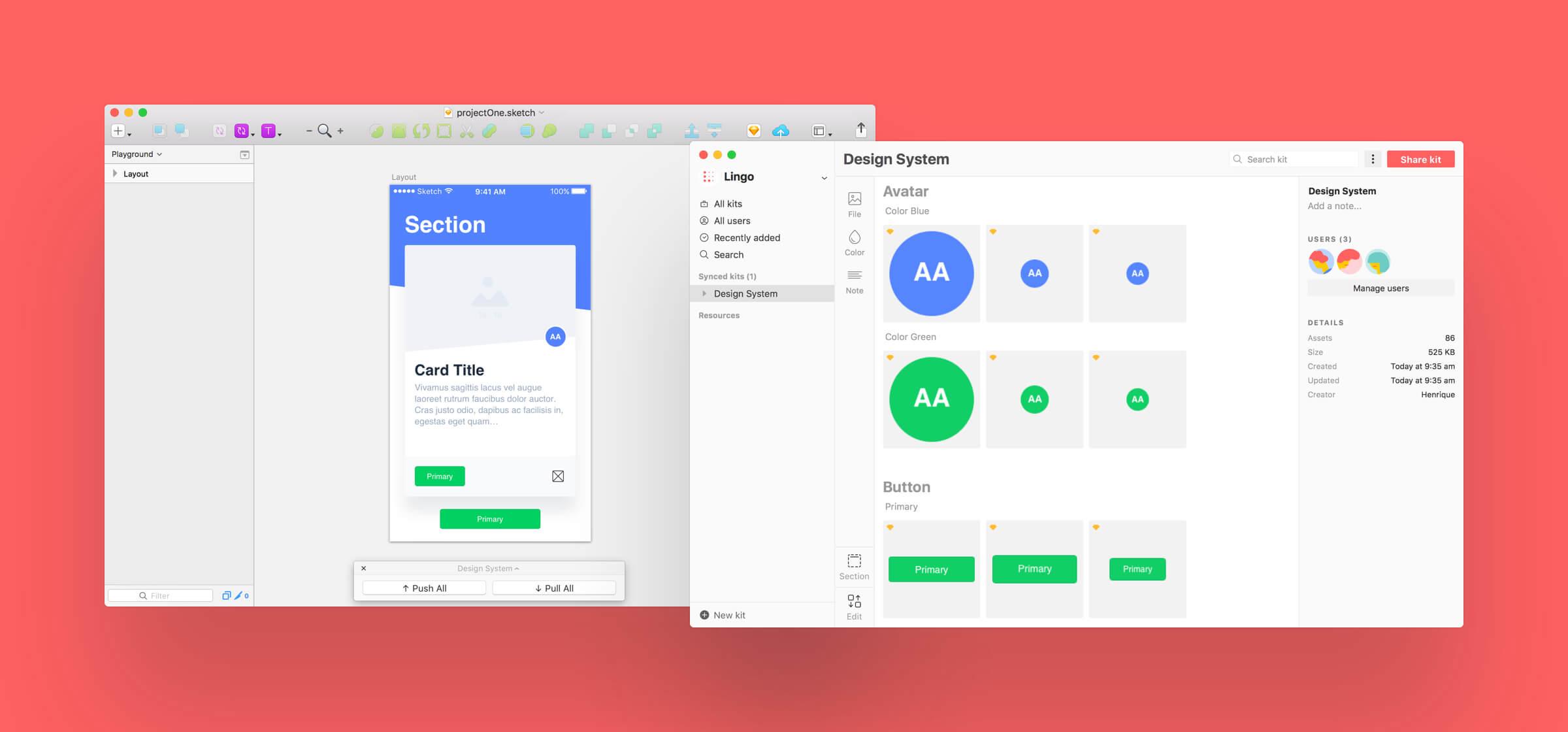 A design system manager for Sketch